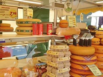 Wochenmarkt Egmond aan Zee