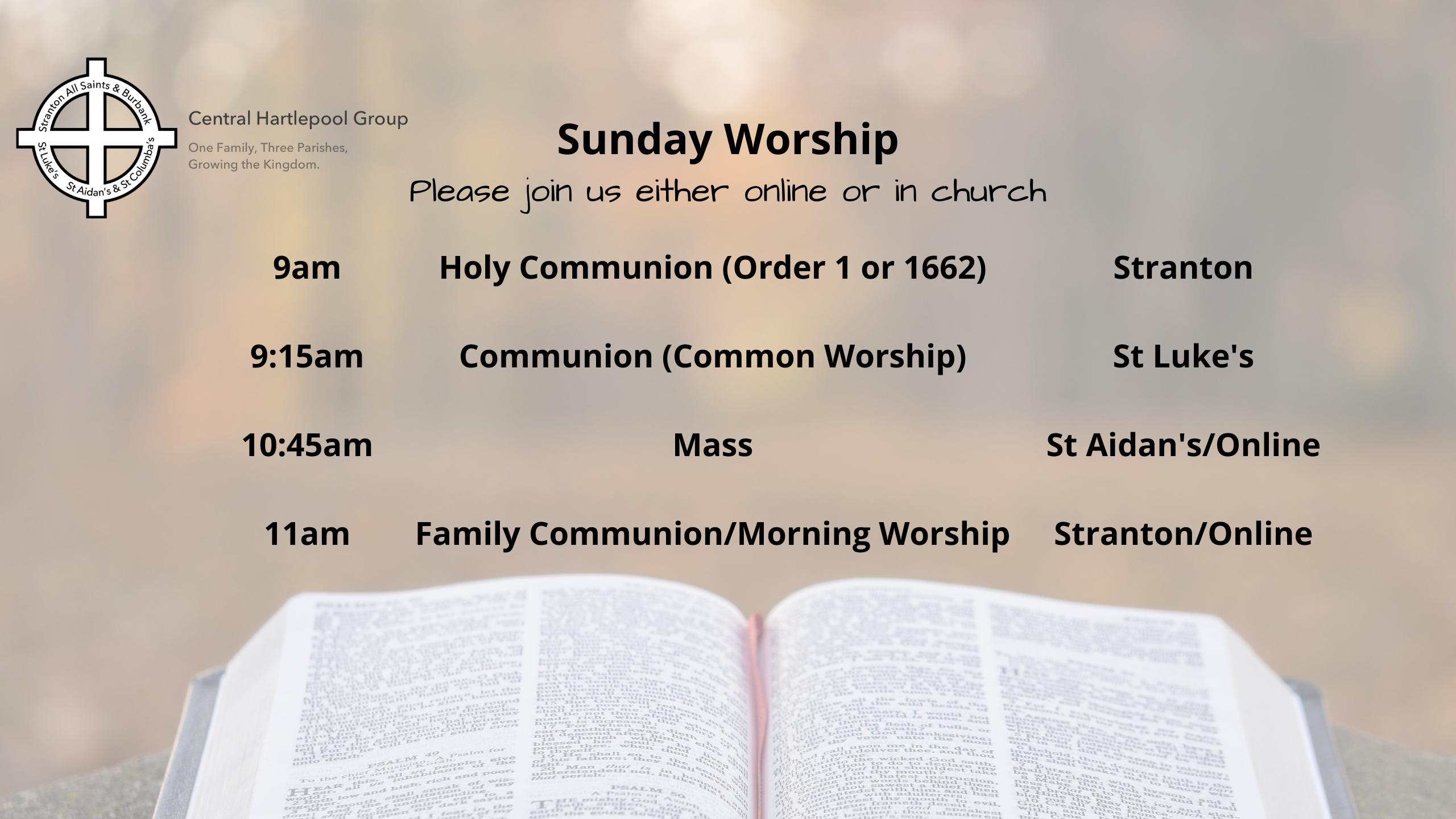 Sunday Worship Generic