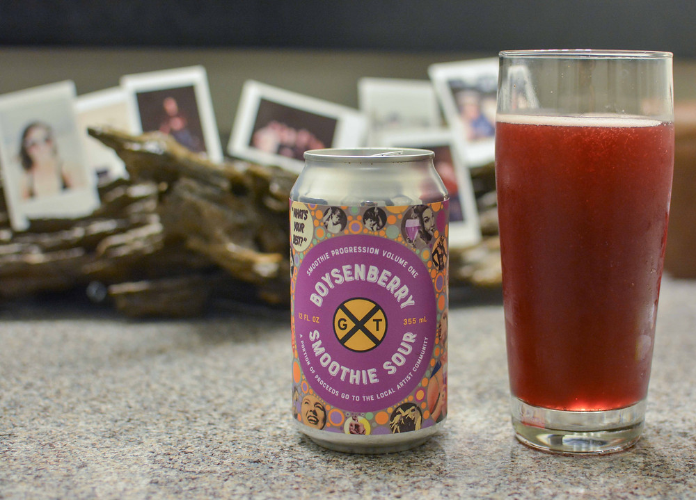 Boysenberry Smoothie Sour Beer
