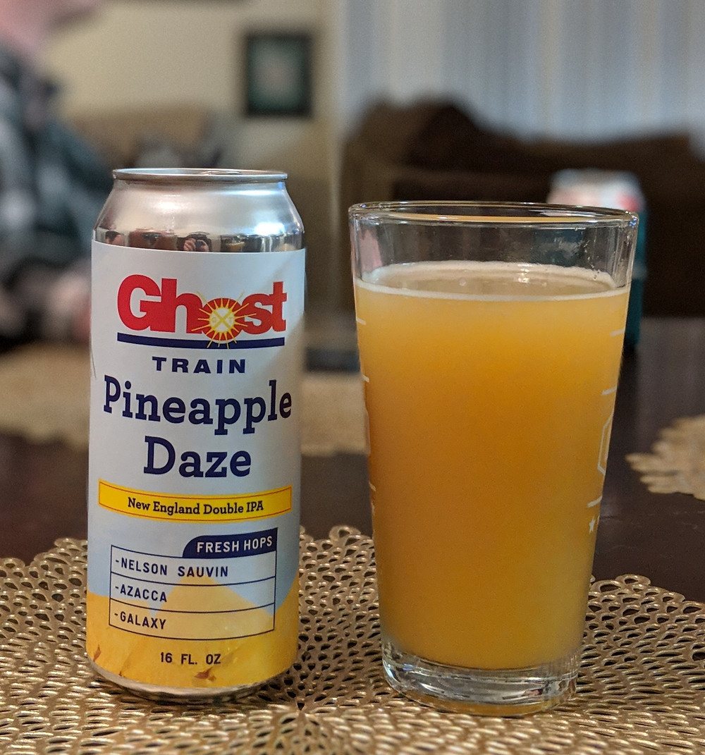 Ghost Train Pineapple Daze Beer