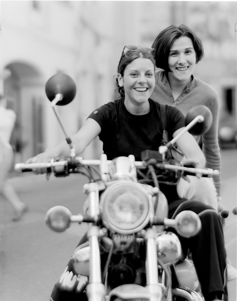 giovani in moto Sardegna