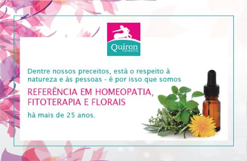 Farmácia Quíron é referência em homeoptia, florais, fitoterapia e manipulação de medicamentos há 25 anos