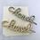 Thumbnail: Gold Crystal Designer Hair Pin