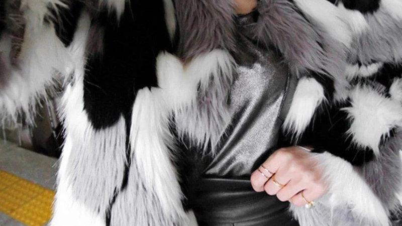 🥶Candy's chic closet Faux Fur