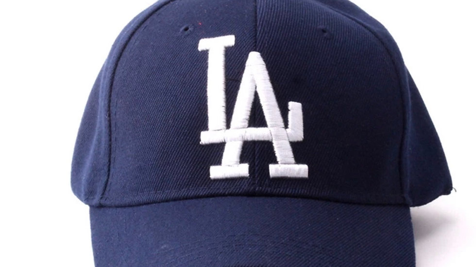 Unisex Blue & White La Dodgers Baseball hat