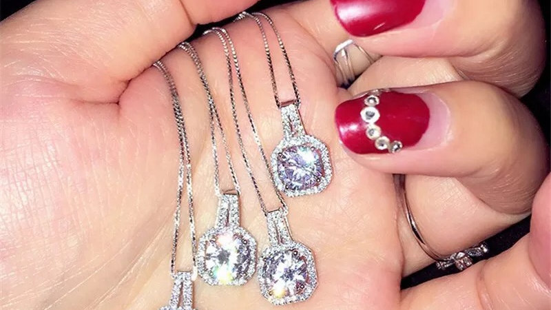 ⭐️.925 silver necklace