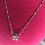 Thumbnail: CZ Pendant  .925 sterling silver Necklace