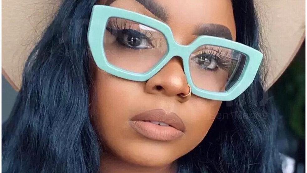 Chic & blue Luxury fashion glasses