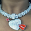 Thumbnail: Silver Cubic Zirconia Tennis necklace