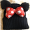 Thumbnail: Girls Cotton BIG bow hat  2-8 years old