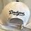 Thumbnail: Unisex White & Black La Dodgers baseball hat