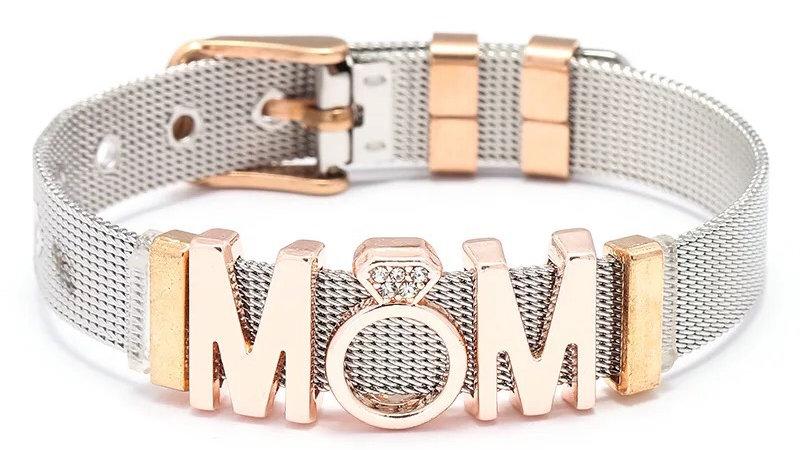Pandora inspired Mom Rose 🌹 Gold Bracelet