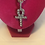 Thumbnail: African Ankh Cubic Zirconia Necklace