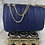 Thumbnail: 🌟Blue Leather Fashion  Bag