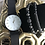 Thumbnail: Black & white quartz watch