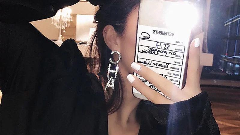 ⭐️Cha-nel Luxury Drop Earrings