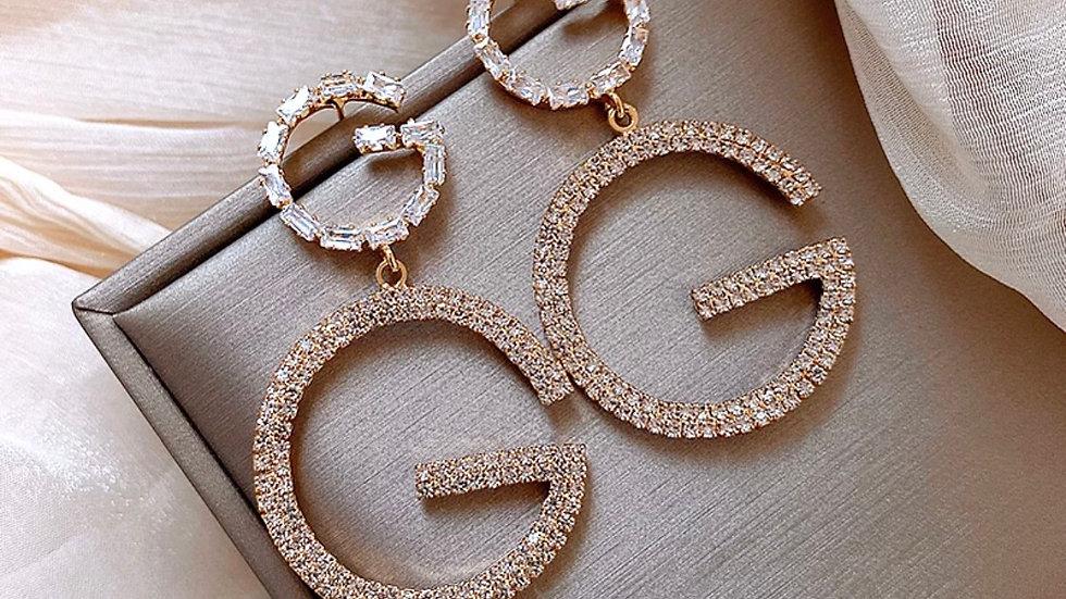 ⭐️Pre-order ( back in stock soon ) Luxury G earrings
