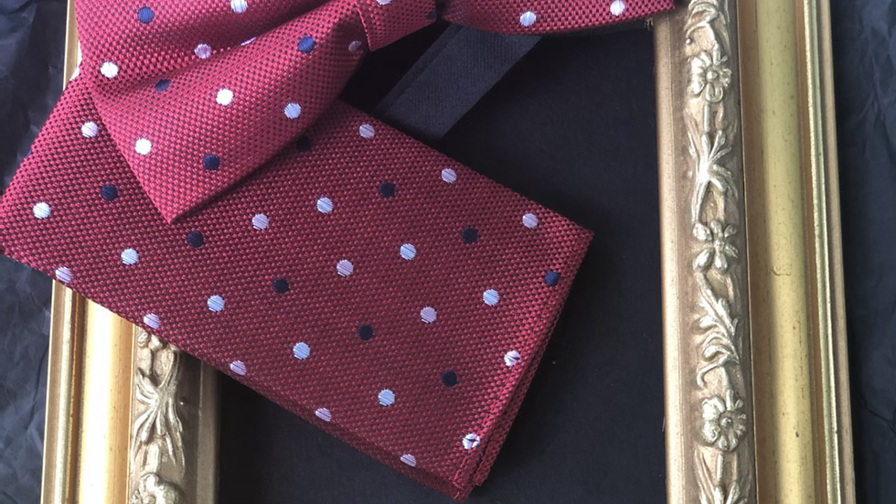 Multi color Bow tie Set
