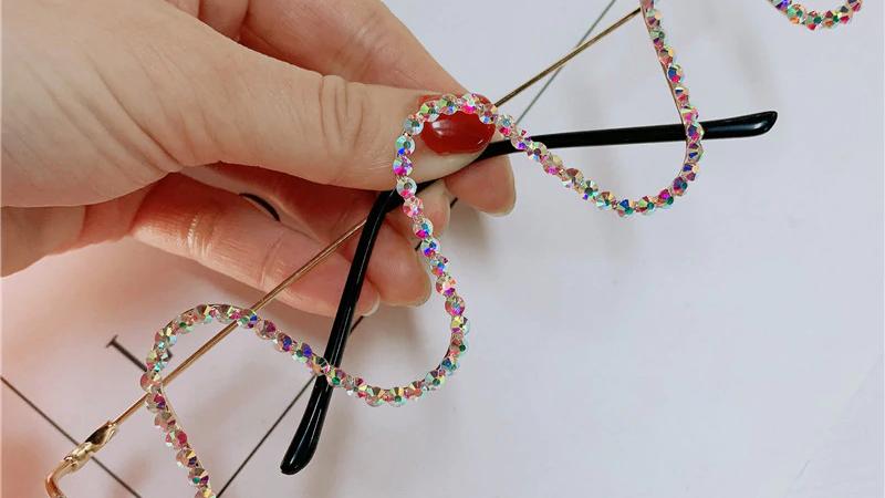 🌟Half Frame Chic Glasses