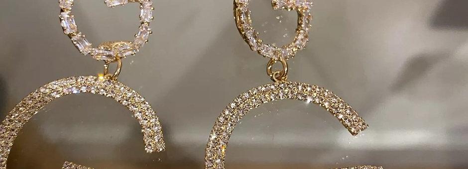 ⭐️ Luxury GG Earrings