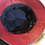 Thumbnail: Red PU leather bucket hat