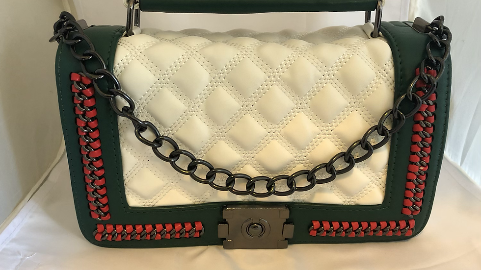 Luxury Quilted Crossbody Handbag