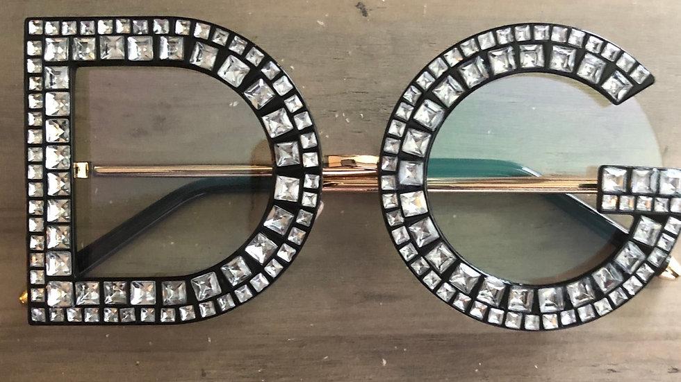 ⭐️Clear lenses Diamond Frame