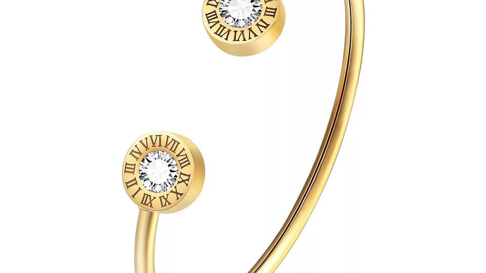 Adjustable timeless  bangle