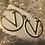 Thumbnail: Valentino style Gold luxury earrings