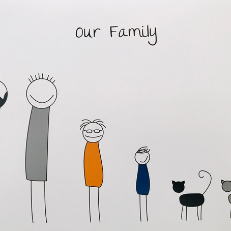 """There's no """"C"""" in family !"""