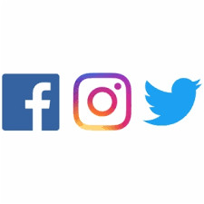 Facebook And Twitter Logo PNG Images | Facebook And Twitter Logo ...