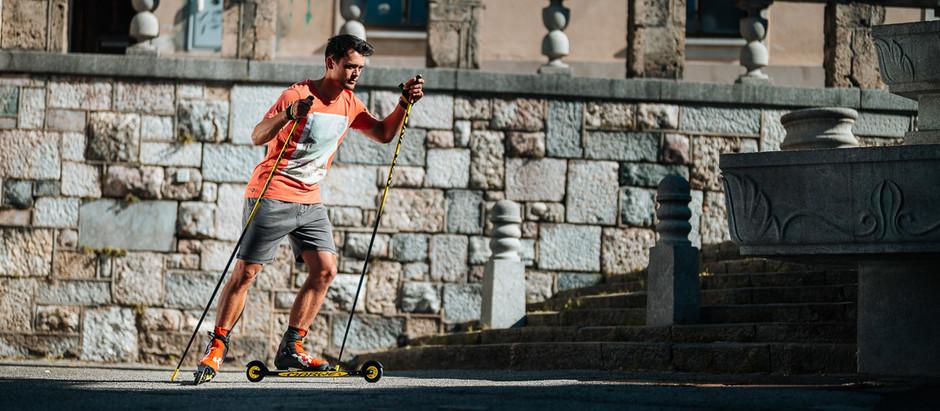 Intersport photoshoot ft. Anamarija Lampic & Miha Simenc
