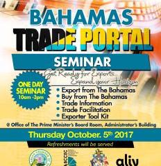 Bahamas Trade Information Portal Seminar