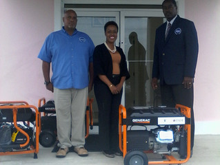 Royal Caribbean Cruises Ltd.--Pan American Development Foundation Donation of Portable Household Gen