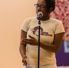 African American Reading at National Poetry Slam in Boston Aug 2013