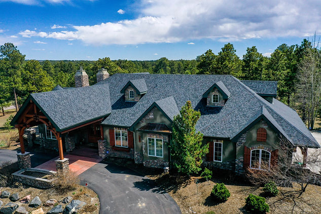 Real Estate House Drone Photography Example in Colorado Springs