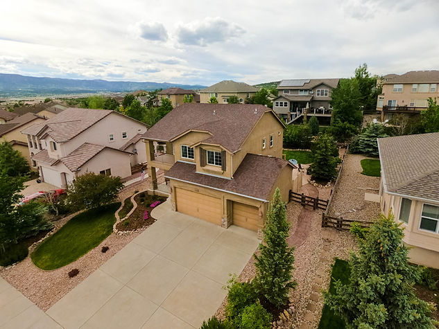 Real Estate in Colorado Springs for Drone Photography