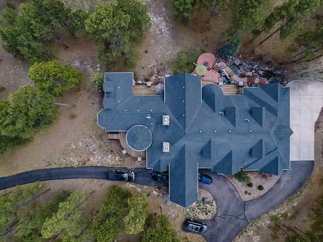 Roof inspections for insurance companies like AllState Insurance in Colorado Springs for Drone Photography