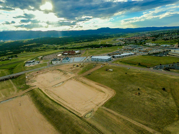 Construction and Mapping in Colorado Springs for Drone Photography