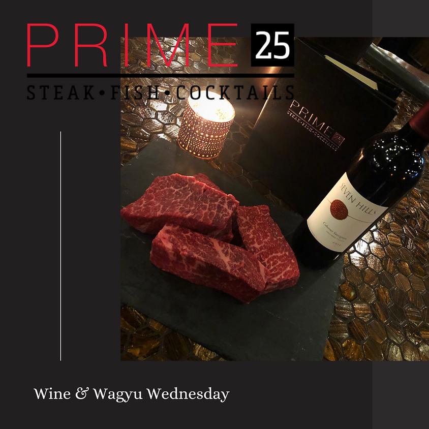 Wine & Wagyu Wednesday!