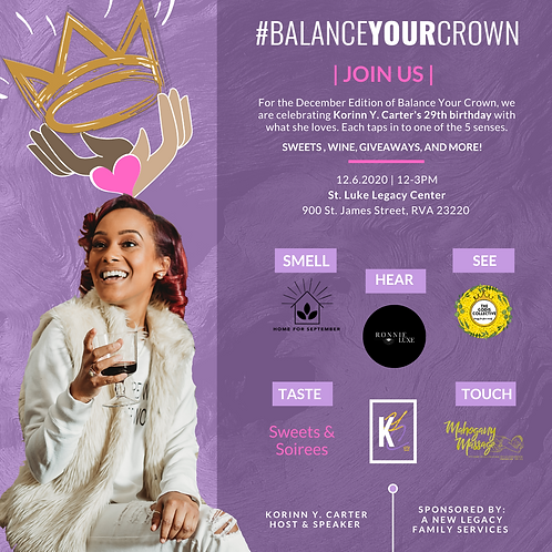 VIRTUAL Balance Your Crown