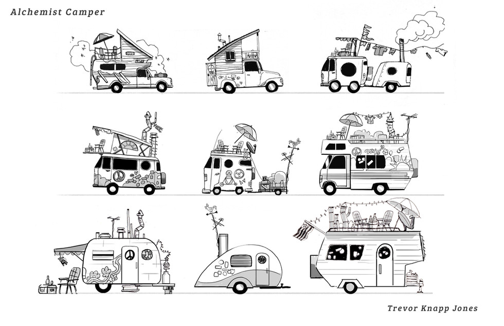The Alchemist's Van