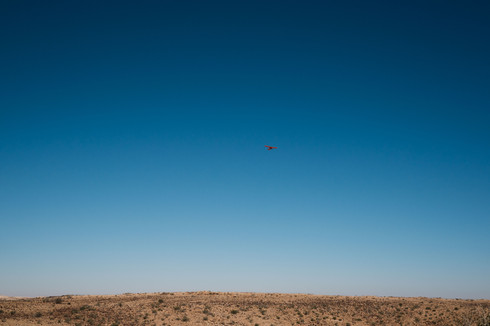 Plane over Egypt