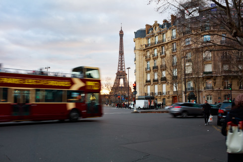 Touring Paris