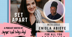 FOR ALL YOU CREATIVES WITH ENIOLA ABIOYE
