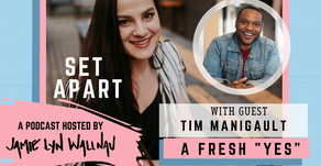 A FRESH ''YES'' WITH TIM MANIGAULT