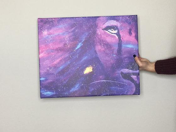 God is Bigger 16x20 Canvas Print