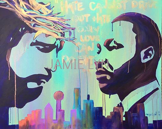 MLK Live Painting