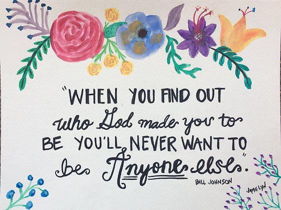 Flower Encouragement