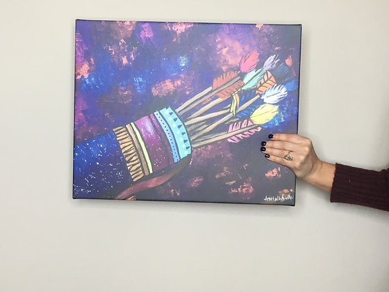 Fully Loaded Quiver 16x20 Canvas Print